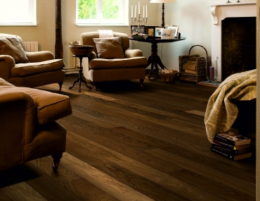Trīsslāņu parkets Quick-Step Castello Havana smoked oak matt CAS1354S