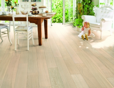 Trīsslāņu parkets Quick-Step Castello Polar oak matt CAS1340S