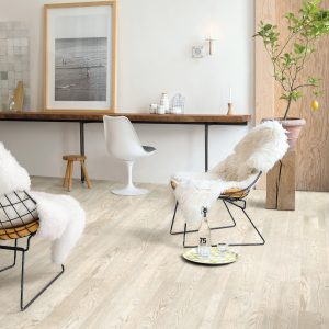 Trīsslāņu parkets Quick-Step Variano Painted white oak oiled VAR1629S
