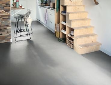 Vinila grīda Quick-Step Ambient click Vibrant Minimal Light Grey AMCL40139