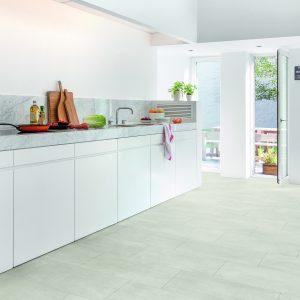 Vinila grīda Quick-Step Ambient click Light concrete AMCL40049