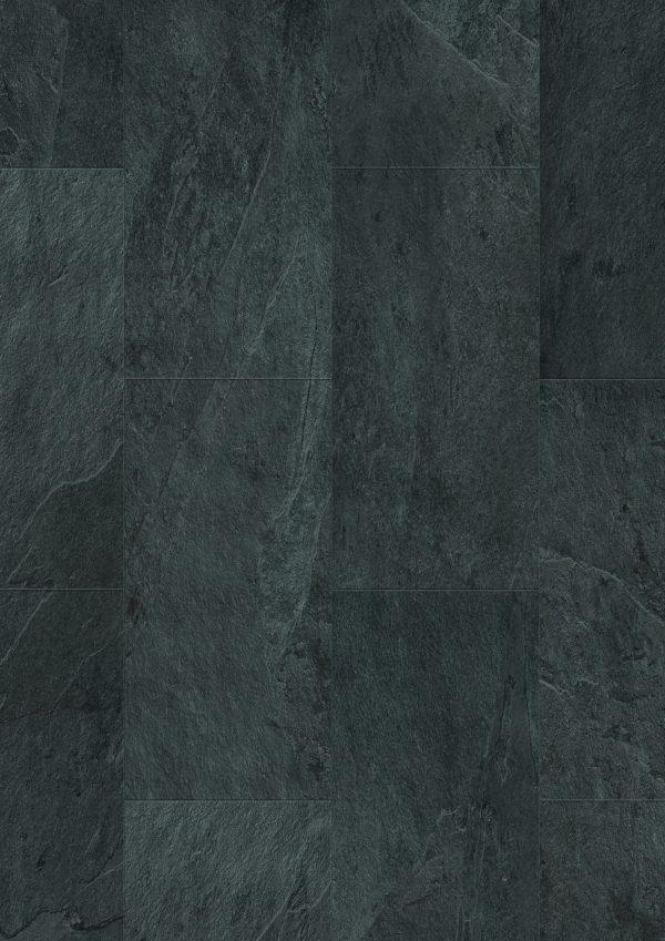 Vinila grīda Quick-Step Ambient click Black slate AMCL40035