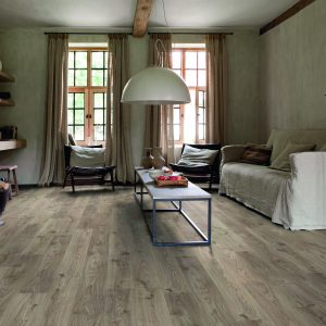 Vinila grīda Quick-Step Balance click Cottage oak brown grey BACL40026