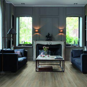 Vinila grīda Quick-Step Balance click Silk oak grey brown BACL40053