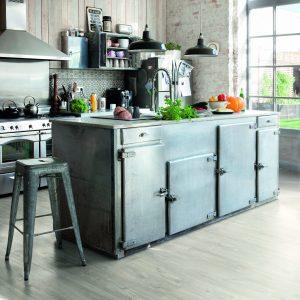 Vinila grīda Quick-Step Balance click Canyon oak grey with saw cuts BACL40030