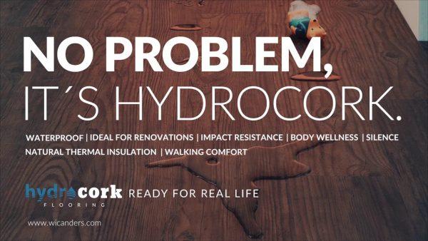 hydrocork vinila grīda